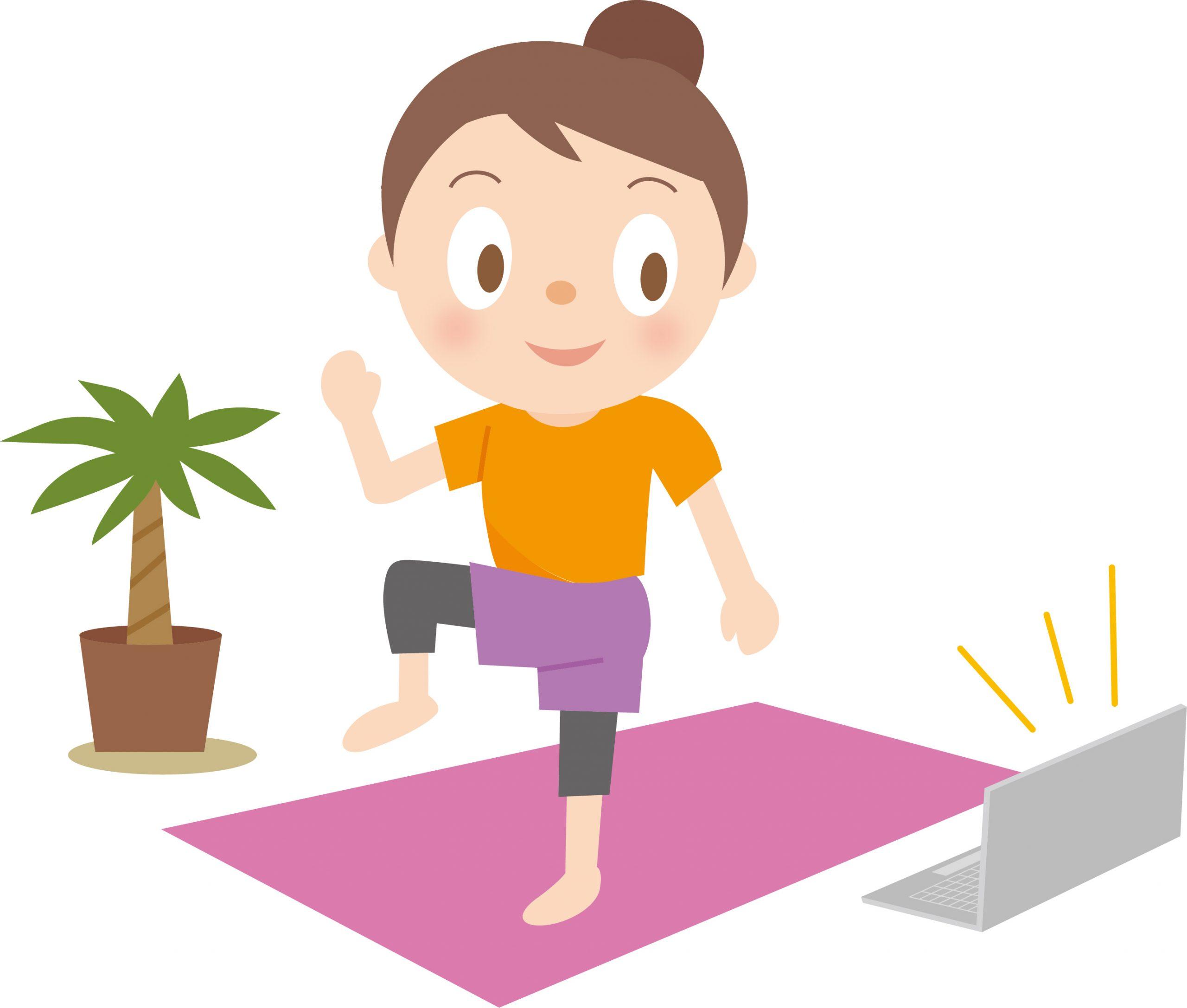 オンラインで体操はじめませんか?